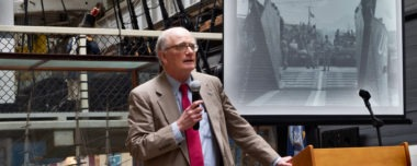 Annual Meeting Concludes With Leighton Lecture On D-Day Featuring Dr. Brooke Blades.